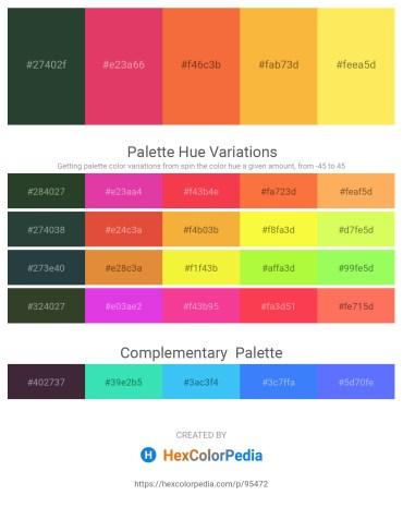 Palette image download - Dark Slate Gray – Crimson – Tomato – Sandy Brown – Slate Gray