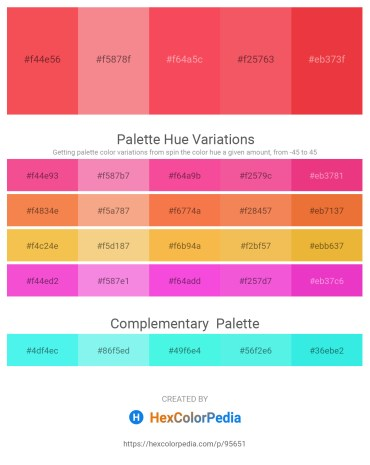 Palette image download - Tomato – Light Coral – Tomato – Salmon – Crimson