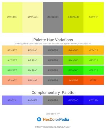 Palette image download - Navajo White – Wheat – Gray – Gold – Yellow