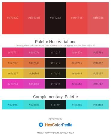 Palette image download - Crimson – Indian Red – Black – Crimson – Indian Red