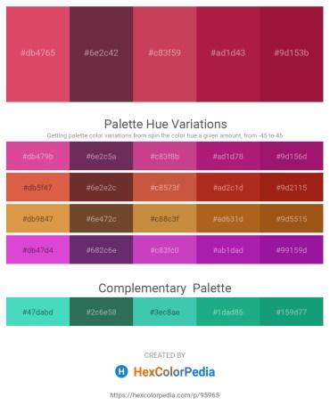 Palette image download - Indian Red – Brown – Indian Red – Firebrick – Firebrick