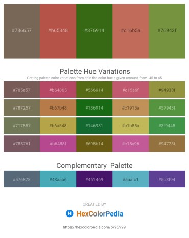 Palette image download - Dim Gray – Indian Red – Forest Green – Indian Red – Dark Olive Green