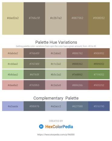 Palette image download - Tan – Dim Gray – Salmon – Gray – Dark Khaki