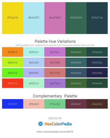 Palette image download - Gold – Pale Turquoise – Orchid – Dark Slate Gray – Dark Slate Gray