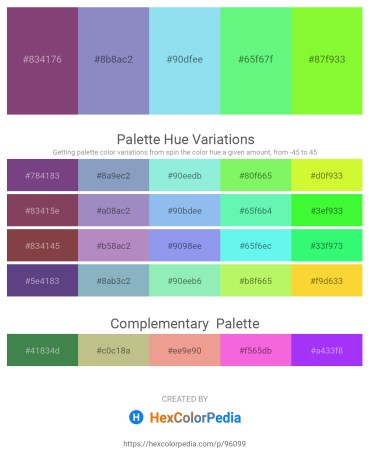 Palette image download - Sienna – Light Slate Gray – Sky Blue – Pale Green – Green Yellow
