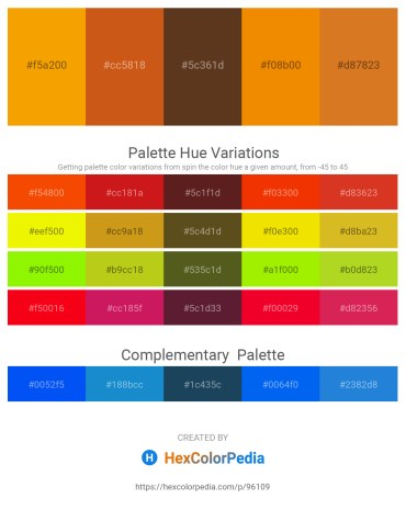 Palette image download - Orange – Chocolate – Sienna – Dark Orange – Chocolate