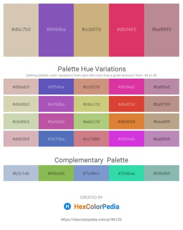 Palette image download - Tan – Slate Blue – Tan – Crimson – Rosy Brown
