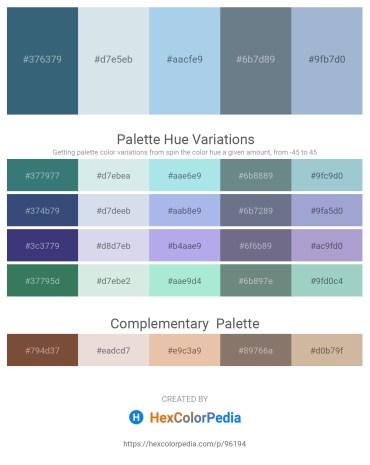 Palette image download - Dark Slate Blue – Light Steel Blue – Light Blue – Slate Gray – Light Steel Blue
