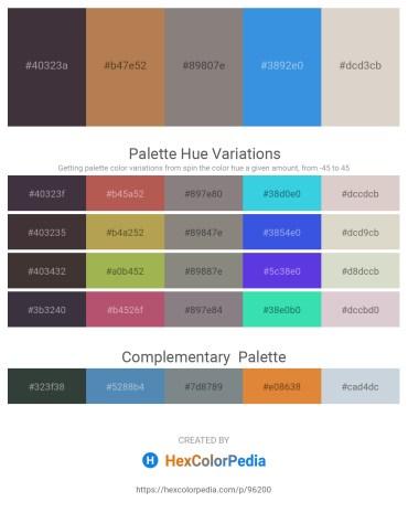 Palette image download - Dark Slate Blue – Slate Gray – Gray – Royal Blue – Light Gray