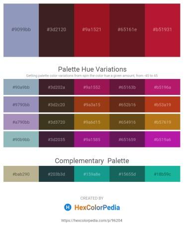 Palette image download - Light Slate Gray – Dark Olive Green – Firebrick – Beige – Firebrick