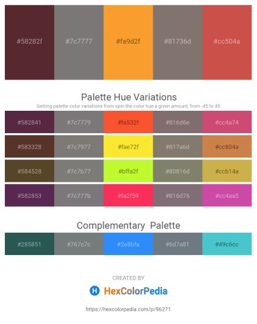 Palette image download - Brown – Gray – Coral – Gray – Indian Red