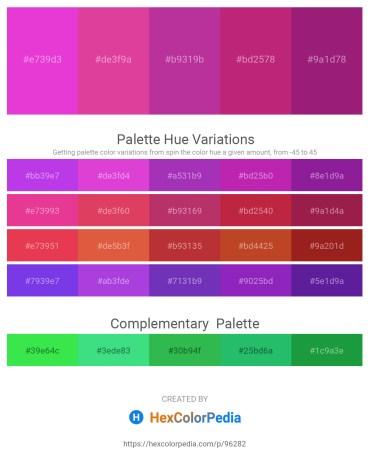 Palette image download - Orchid – Pale Violet Red – Medium Violet Red – Medium Violet Red – Medium Violet Red