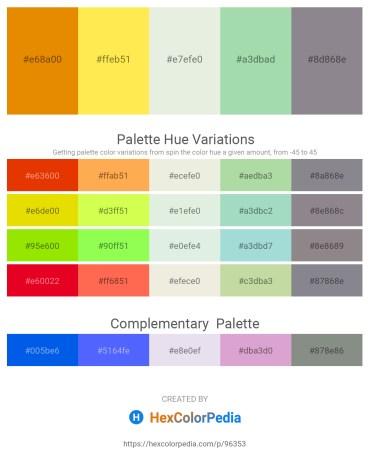 Palette image download - Dark Orange – Peru – Beige – Powder Blue – Light Slate Gray