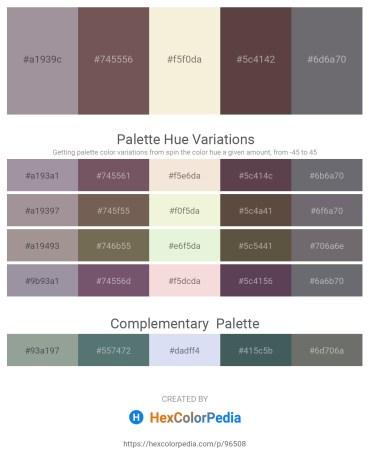 Palette image download - Dark Gray – Dim Gray – Beige – Dim Gray – Slate Gray