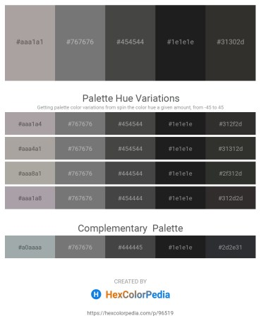 Palette image download - Dark Gray – Gray – Dim Gray – Black – Black