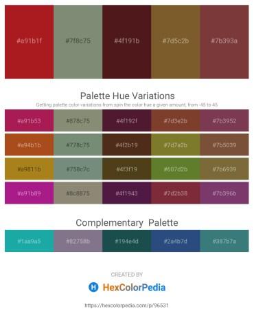 Palette image download - Firebrick – Gray – Brown – Sienna – Sienna