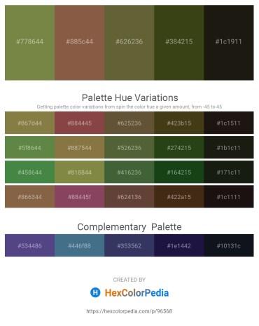 Palette image download - Dark Olive Green – Sienna – Dark Olive Green – Dark Olive Green – Black