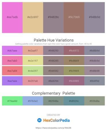 Palette image download - Violet – Burlywood – Gray – Rosy Brown – Light Slate Gray