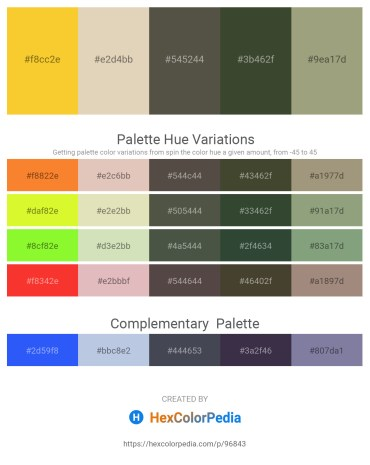 Palette image download - Gold – Tan – Dim Gray – Dark Olive Green – Dark Sea Green