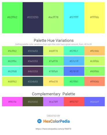 Palette image download - Pale Green – Lime Green – Pale Green – Aquamarine – Navajo White