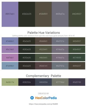 Palette image download - Light Slate Gray – Black – Dim Gray – Slate Gray – Dark Olive Green
