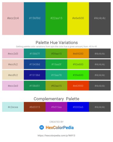 Palette image download - Plum – Gray – Forest Green – Gold – Dim Gray