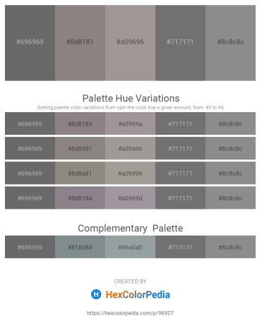 Palette image download - Dim Gray – Gray – Dark Gray – Dim Gray – Gray