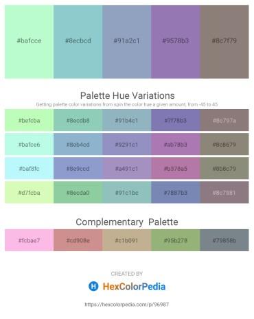 Palette image download - Pale Green – Light Steel Blue – Light Steel Blue – Light Slate Gray – Gray