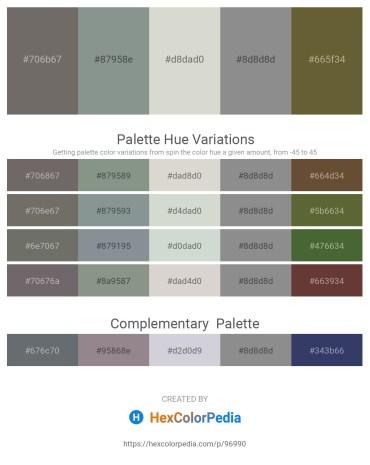 Palette image download - Dim Gray – Light Slate Gray – Light Gray – Gray – Dark Olive Green