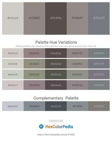 Palette image download - Light Gray – Gray – Dim Gray – Gray – Slate Gray
