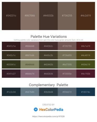 Palette image download - Black – Gray – Peru – Dim Gray – Dark Slate Gray