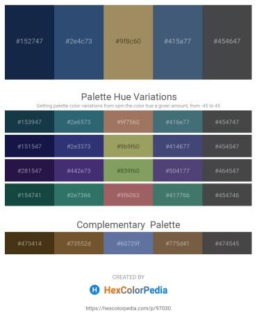 Palette image download - Midnight Blue – Dark Slate Blue – Dark Khaki – Dark Slate Blue – Dark Slate Gray