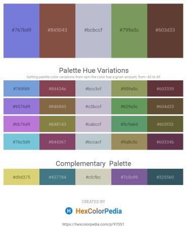 Palette image download - Medium Purple – Sienna – Light Steel Blue – Dark Sea Green – Medium Purple