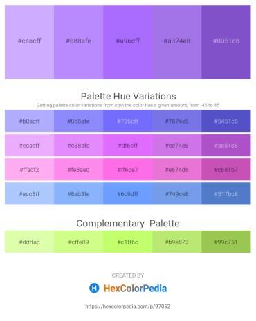 Palette image download - Tan – Medium Slate Blue – Medium Slate Blue – Medium Purple – Slate Blue