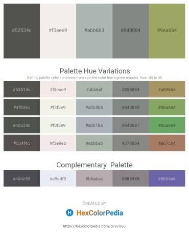 Palette image download - Dim Gray – Beige – Dark Sea Green – Slate Gray – Dark Khaki