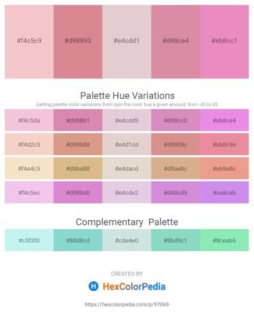 Palette image download - Wheat – Pale Violet Red – Thistle – Pale Violet Red – Violet