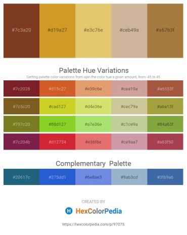 Palette image download - Sienna – Goldenrod – Burlywood – Tan – Sienna