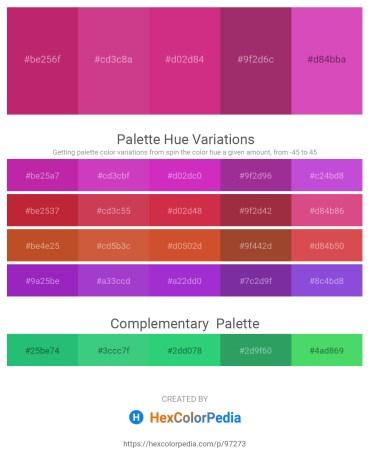 Palette image download - Medium Violet Red – Indian Red – Medium Violet Red – Dark Khaki – Orchid