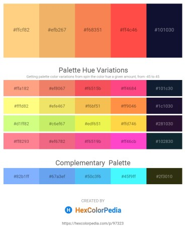Palette image download - Sandy Brown – Sandy Brown – Coral – Tomato – Midnight Blue