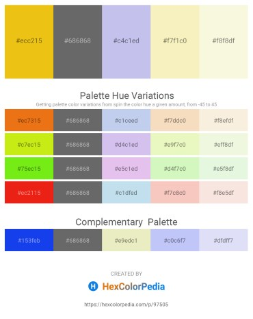 Palette image download - Goldenrod – Dim Gray – Light Steel Blue – Light Goldenrod Yellow – Beige