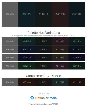 Palette image download - Dim Gray – Dark Slate Gray – Dark Slate Gray – Black – Dark Slate Gray