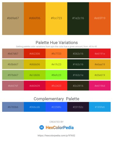 Palette image download - Dark Khaki – Dark Goldenrod – Gold – Indian Red – Chocolate