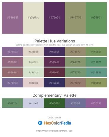 Palette image download - Gray – Beige – Dark Slate Blue – Gray – Dark Sea Green