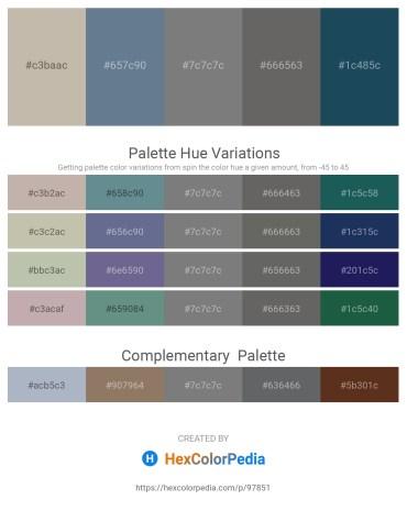Palette image download - Silver – Slate Gray – Gray – Dim Gray – Midnight Blue