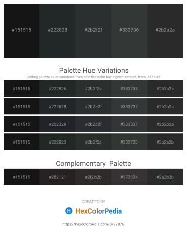 Palette image download - Black – Dark Slate Gray – Dark Slate Gray – Dark Slate Gray – Black
