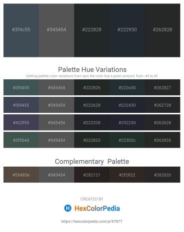 Palette image download - Dark Slate Gray – Dim Gray – Dark Slate Gray – Dark Slate Gray – Dark Slate Gray
