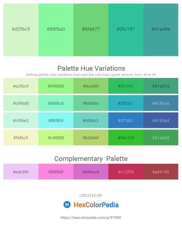 Palette image download - Light Goldenrod Yellow – Pale Green – Medium Aquamarine – Light Sea Green – Dark Slate Gray