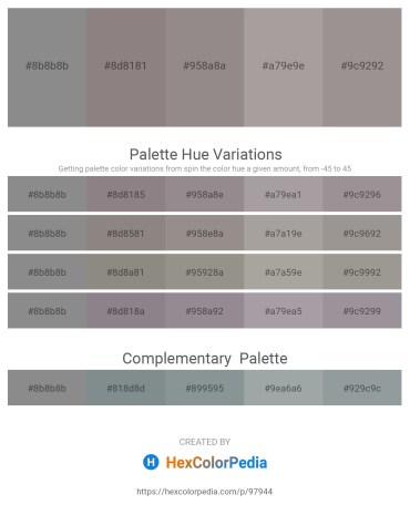 Palette image download - Gray – Gray – Gray – Dark Gray – Dark Gray