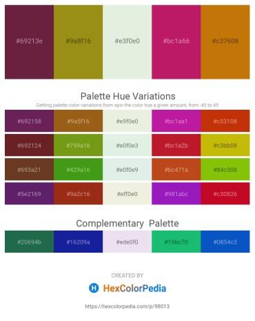 Palette image download - Brown – Dark Goldenrod – Beige – Medium Violet Red – Dark Goldenrod