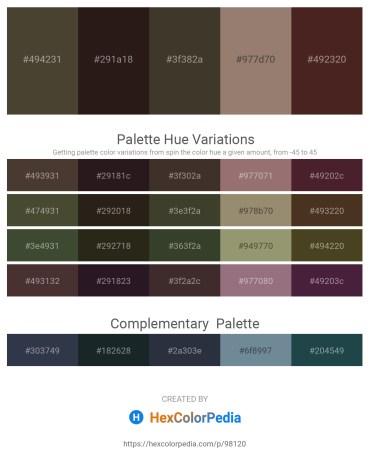 Palette image download - Dim Gray – Black – Steel Blue – Gray – Sienna